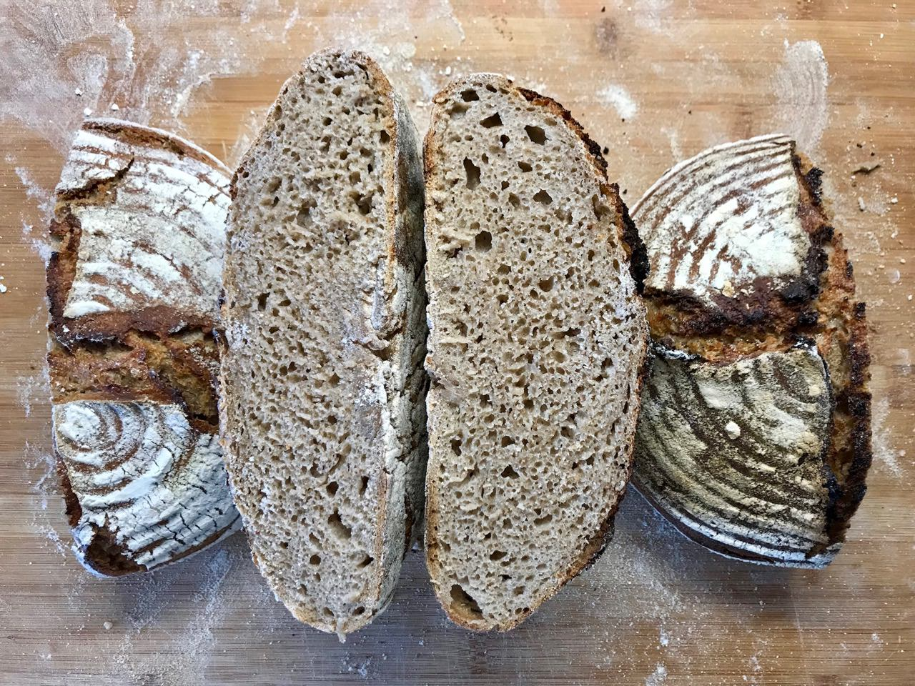 A nice and yummy sourdough bread
