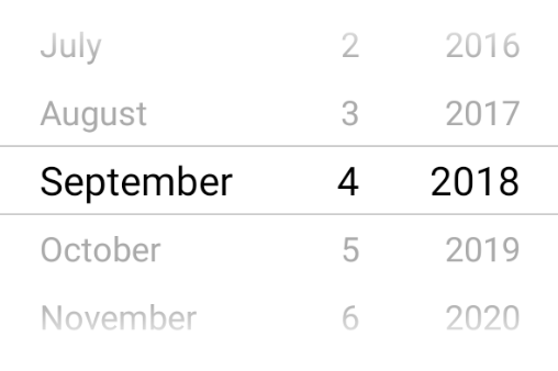 react native datepicker android