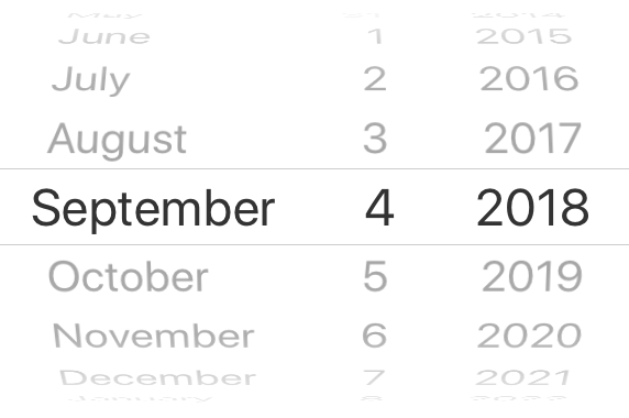 React native datepicker