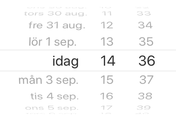 React Native Date picker locale language ios