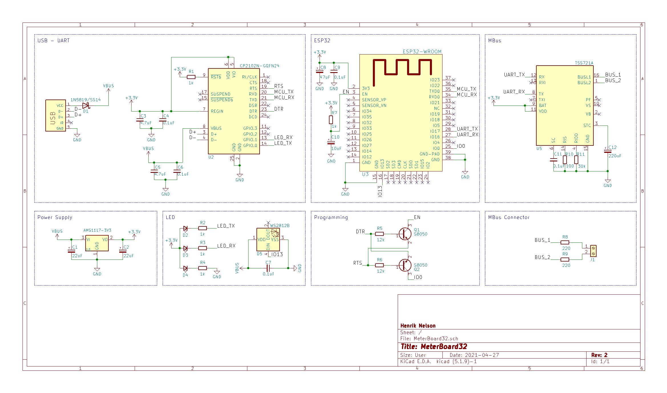 MeterBoard32 Schematic