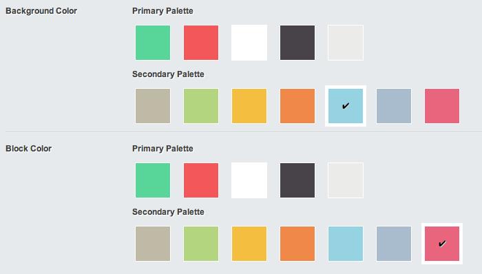 Color Palette Example