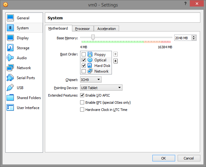 umair-akbar-4 settings mb - Guide: How to evade virtual machine detection; hide OS on VMWare and VirtualBox