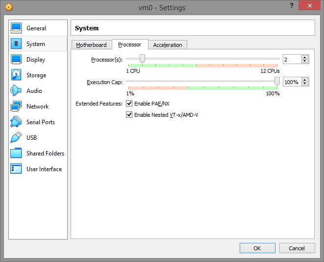 umair-akbar-5 settings cpu - Guide: How to evade virtual machine detection; hide OS on VMWare and VirtualBox