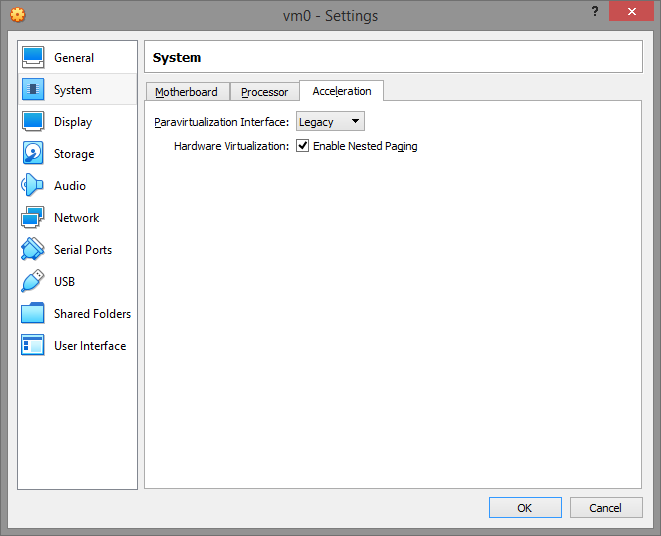 umair-akbar-6 settings accel - Guide: How to evade virtual machine detection; hide OS on VMWare and VirtualBox