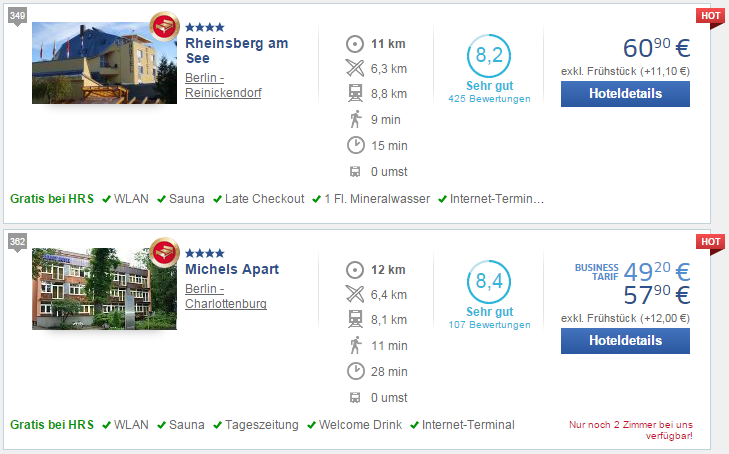 9 minutes walk + 15 min travel from Rheinsberg am See; 11 minutes + 28 minutes from Michels Apart