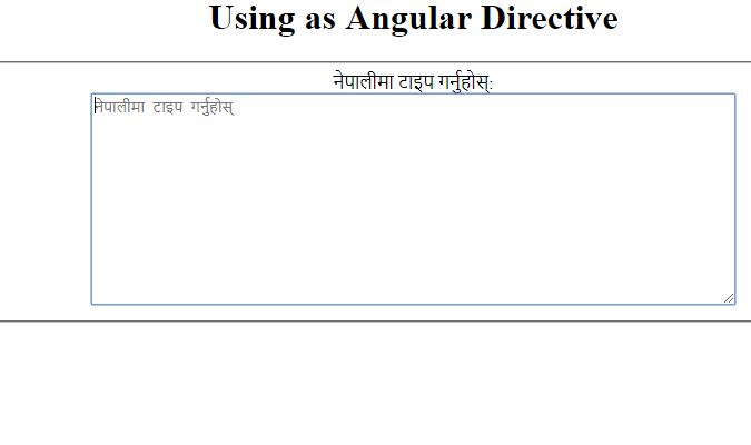 Nepali-unicode-directive