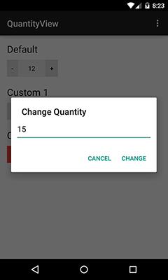 QuantityView