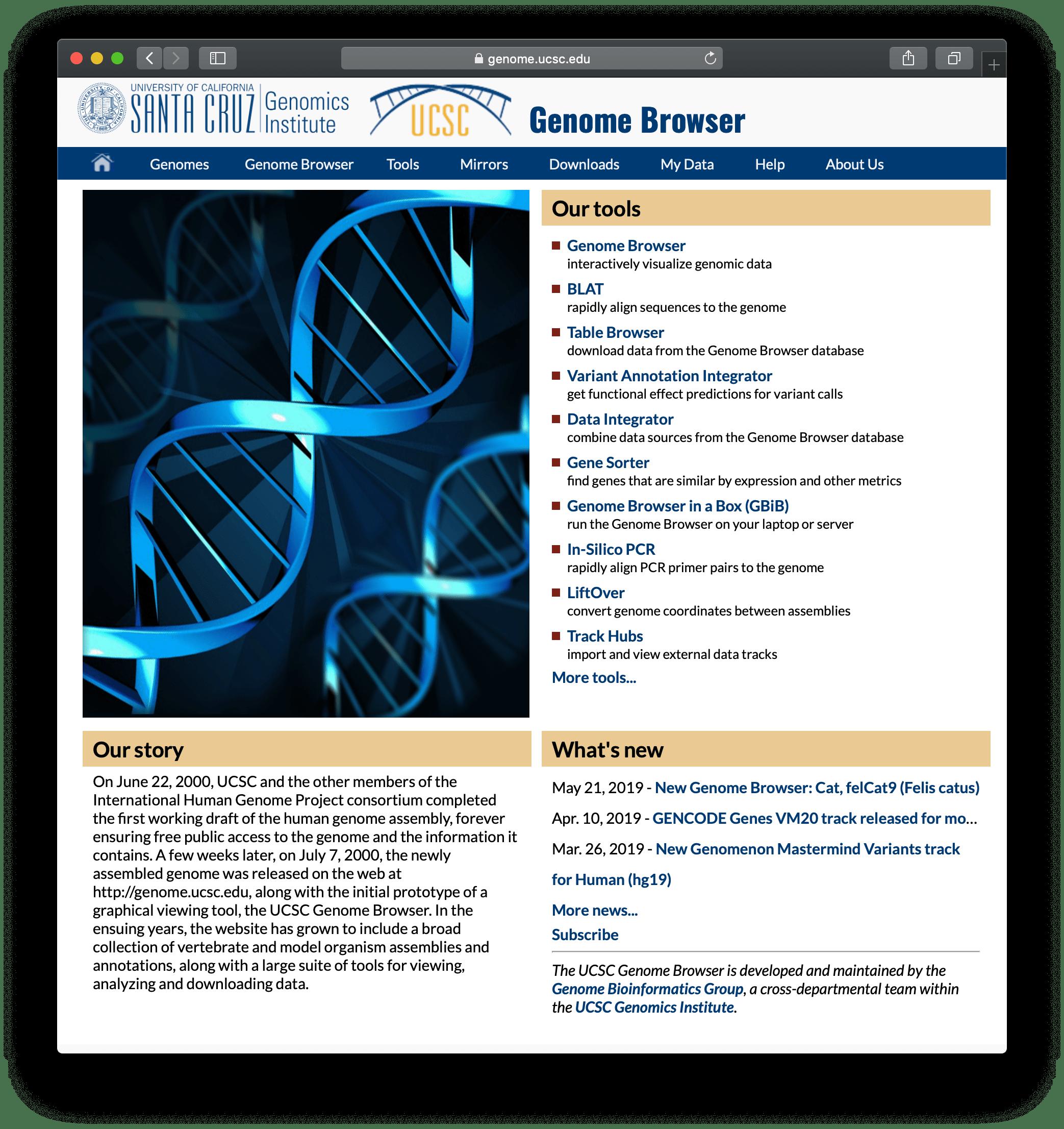 UCSCトップページ