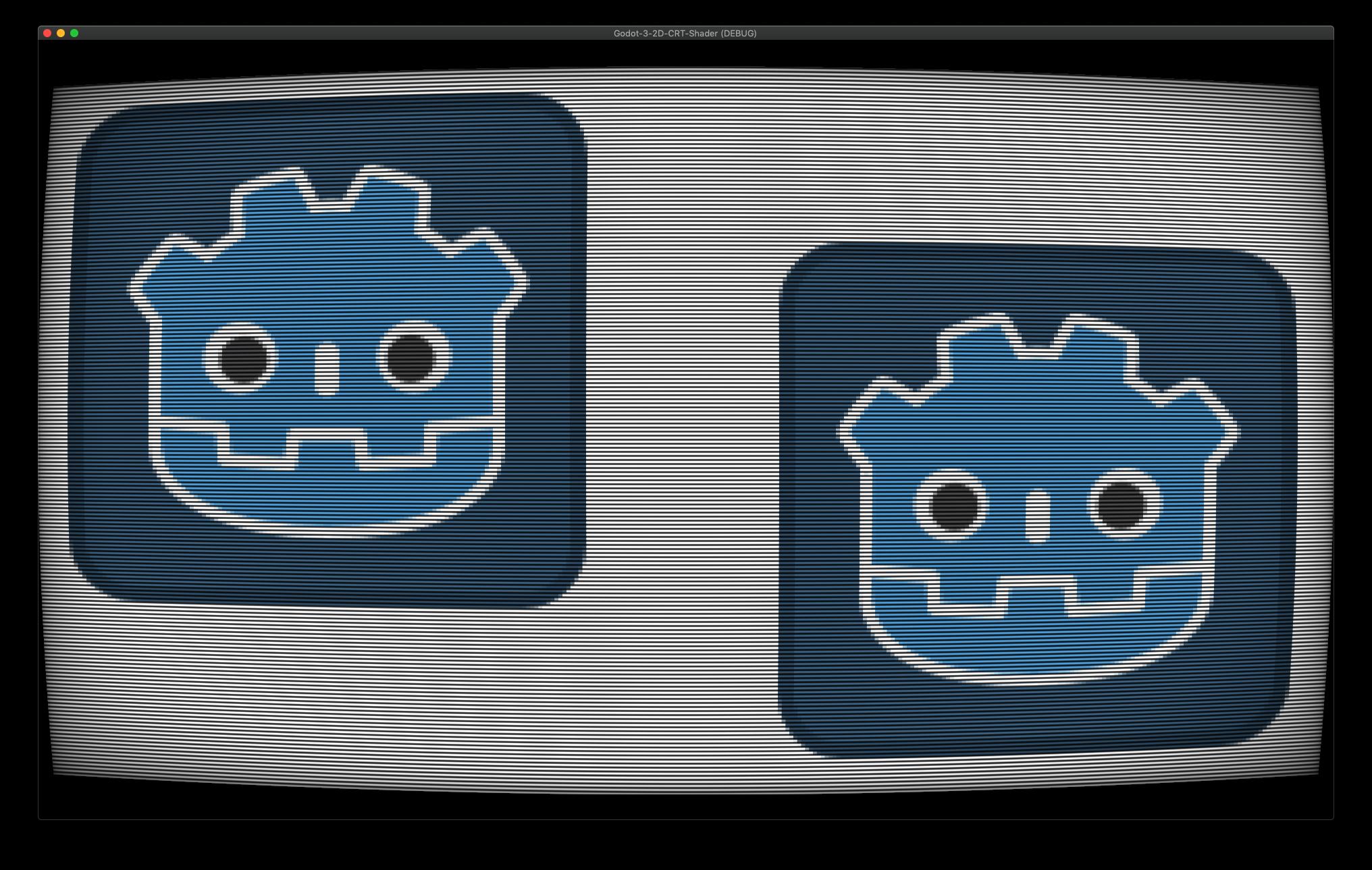 Godot 3 2D CRT Shader's icon