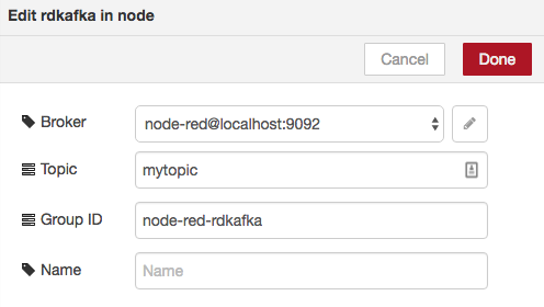 node-red-contrib-rdkafka - Node-RED