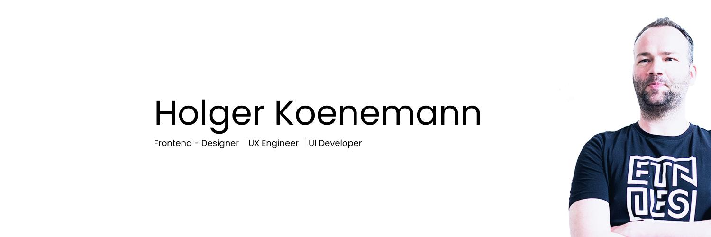 header image for Holger Koenemanns GitHub account