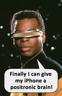 Geordi likes it!