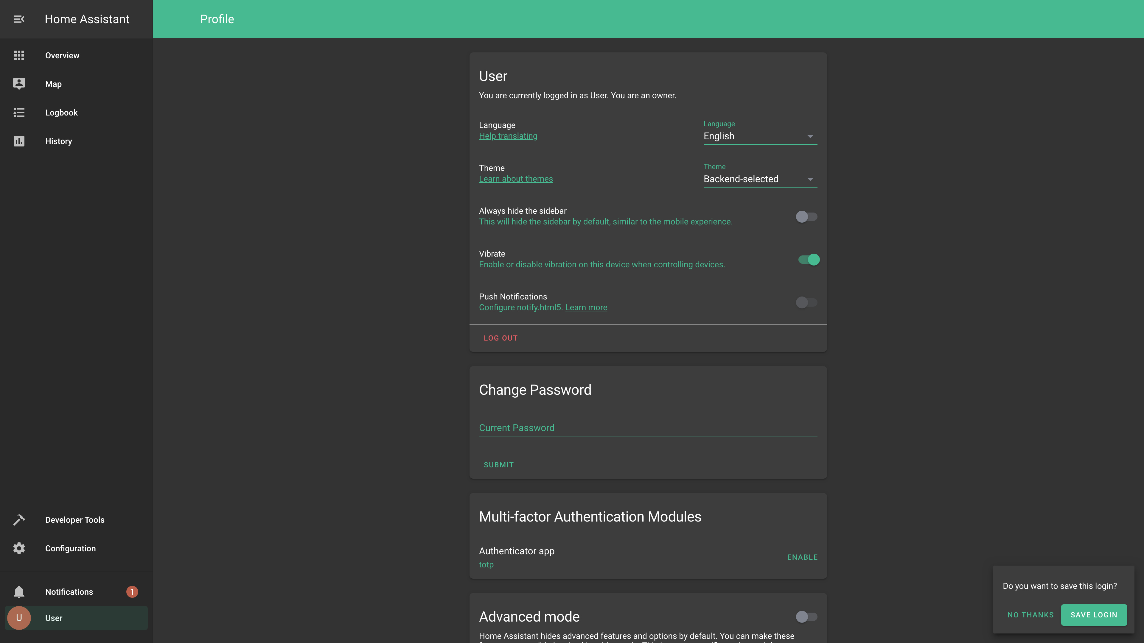 Theme - Profile