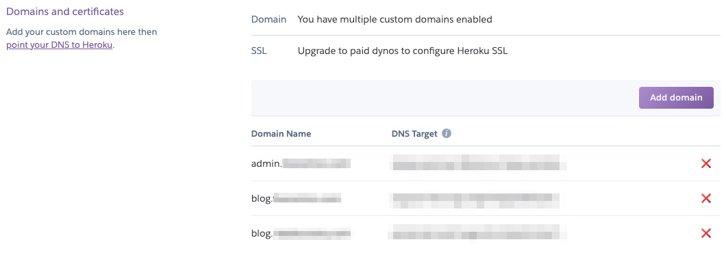 Add Domains