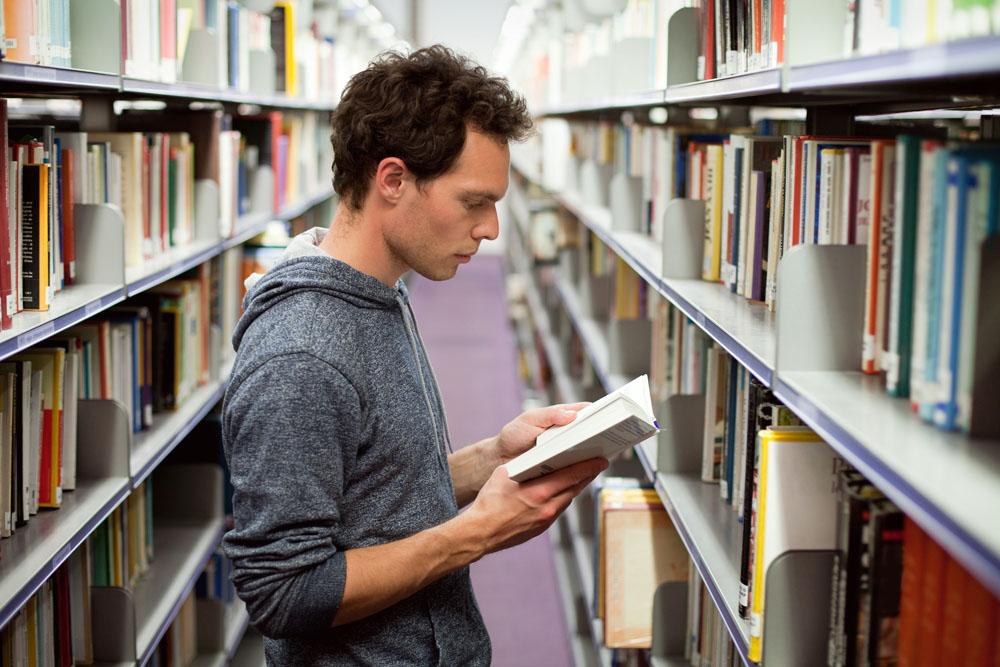 图书馆借书