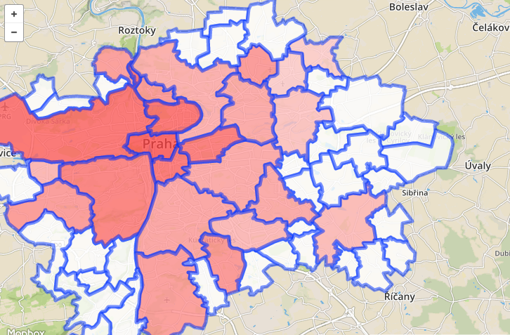 Realestate analysis with MapBox and Turf – Jan Fajfr's wall