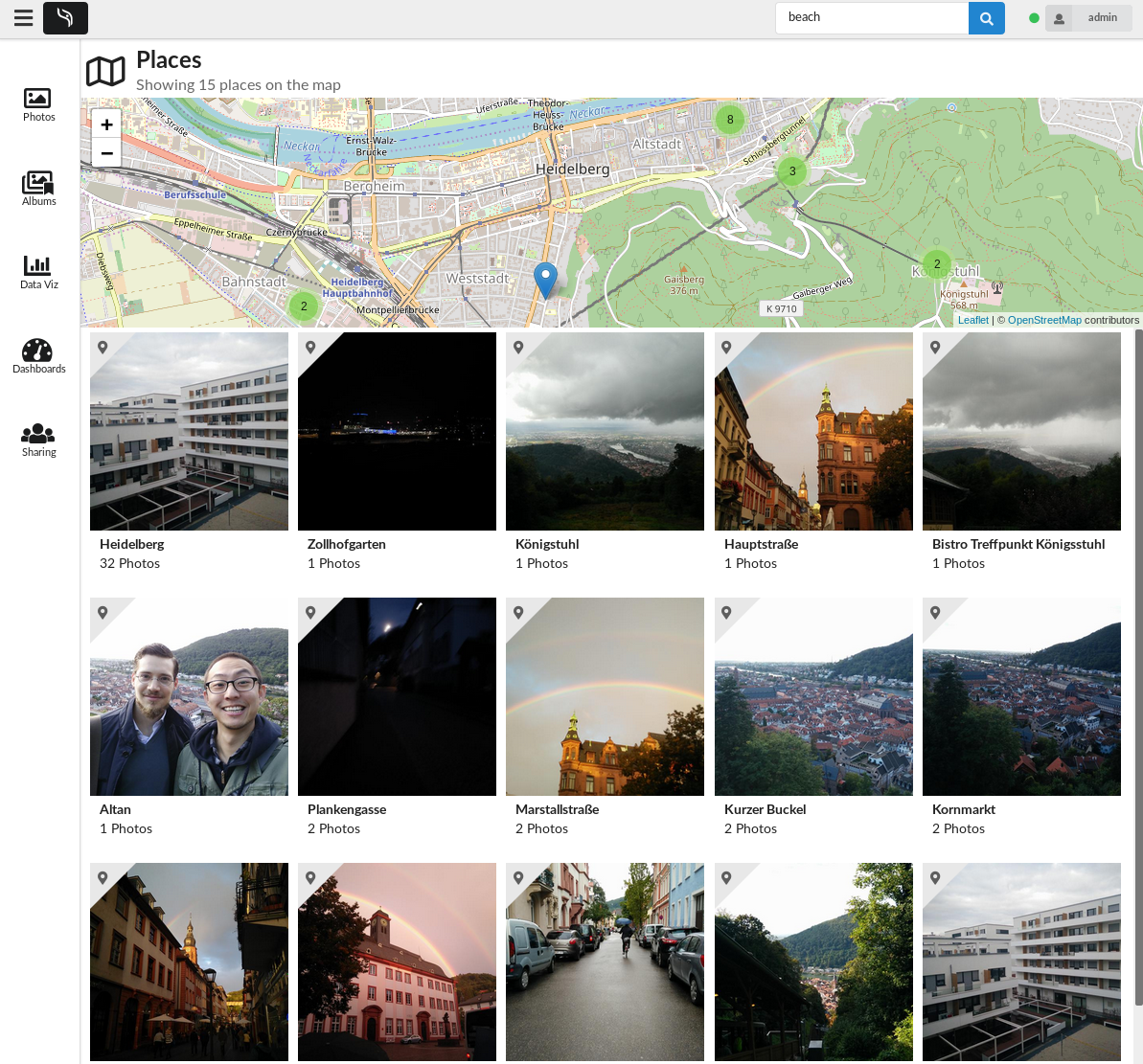 GitHub - hooram/ownphotos: Self hosted alternative to Google Photos