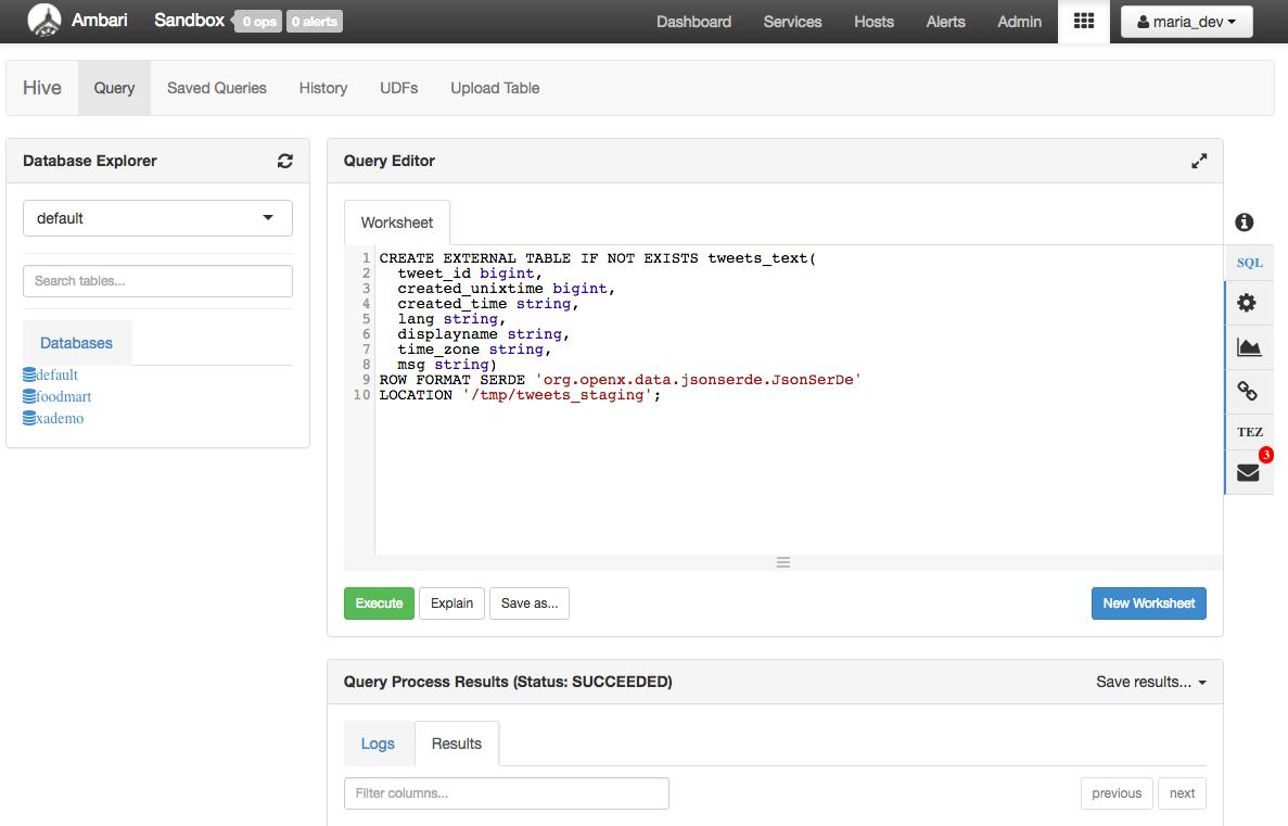 create_table_json