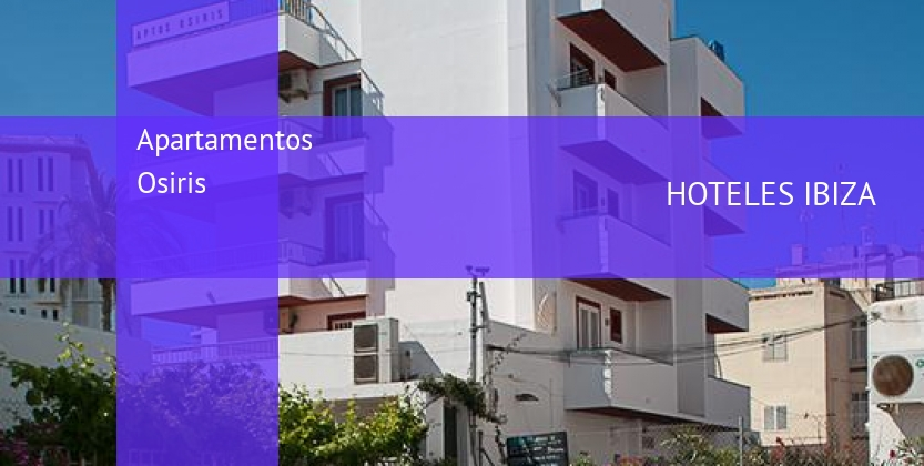 Apartamentos Osiris booking
