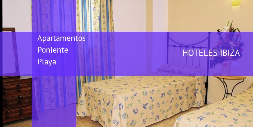 Apartamentos Poniente Playa booking