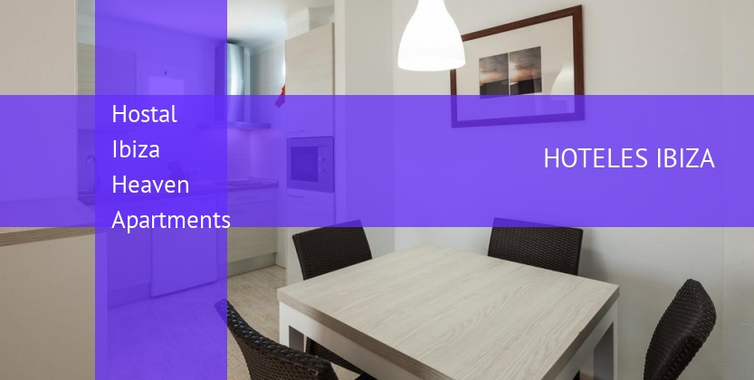 Hostal Ibiza Heaven Apartments reservas