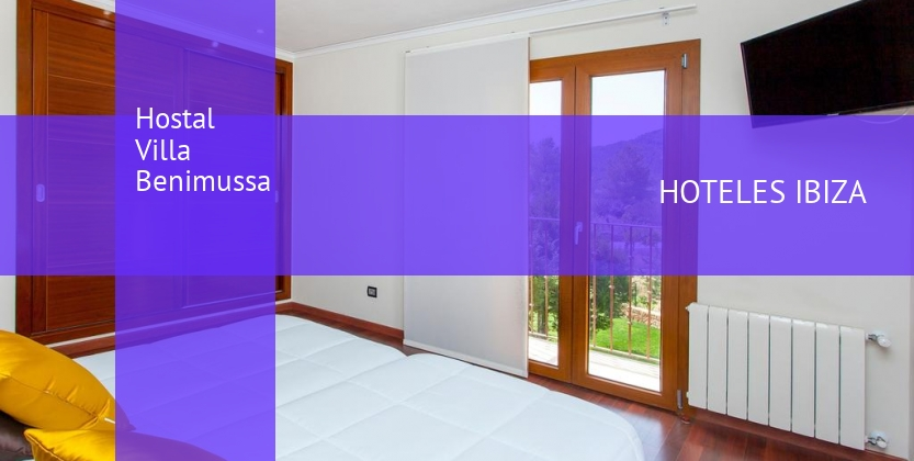 Hostal Villa Benimussa booking