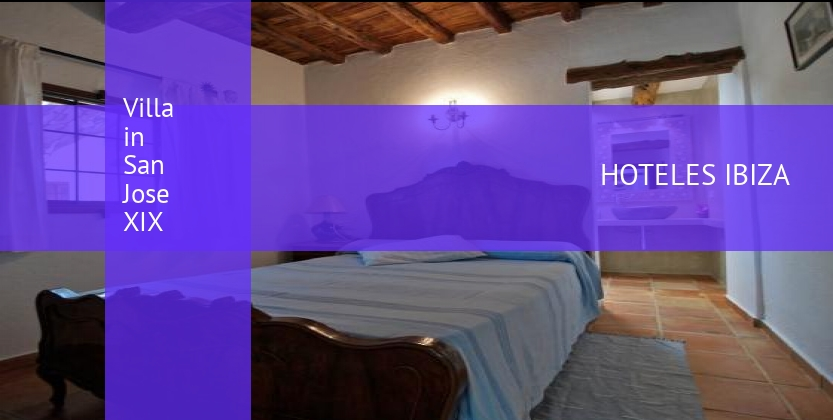 Villa in San Jose XIX booking