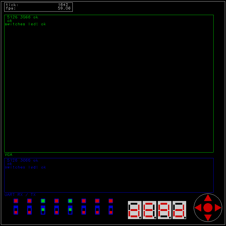 H2 GUI Simulator