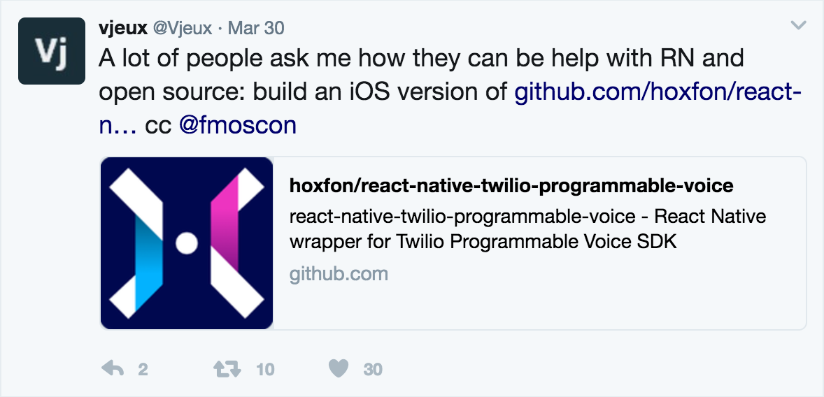 react-native-twilio-programmable-voice - npm