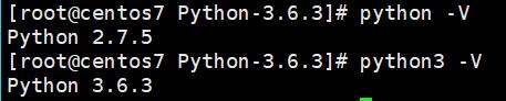 验证Python版本