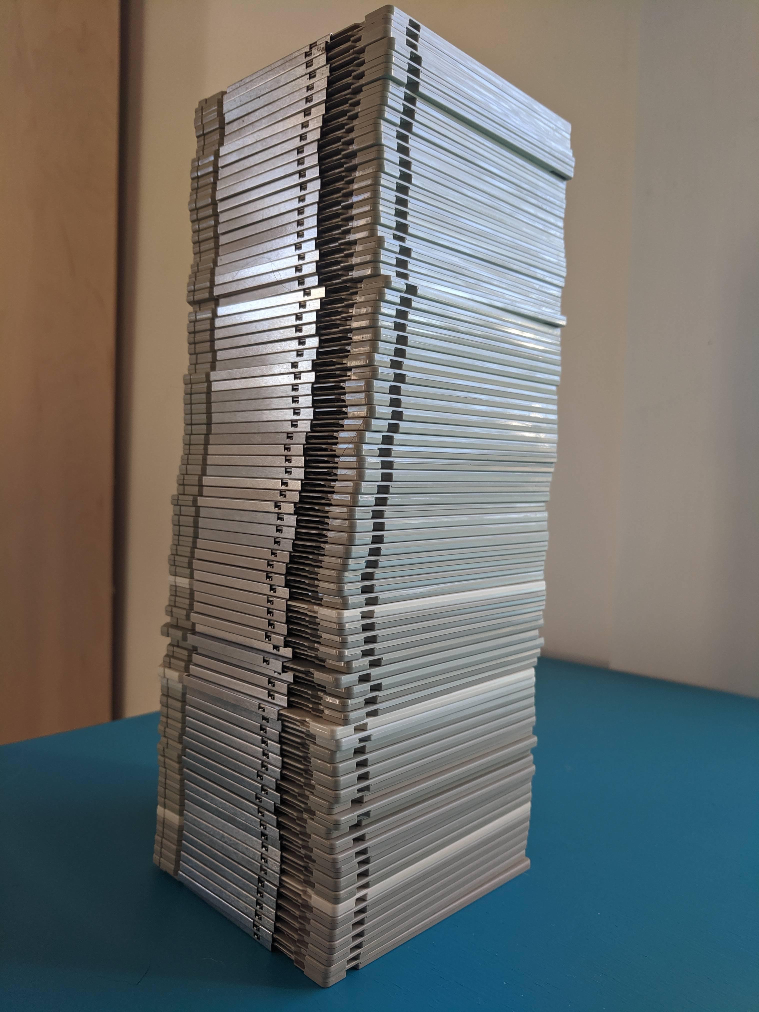 """77 3.5"""" floppy disks"""