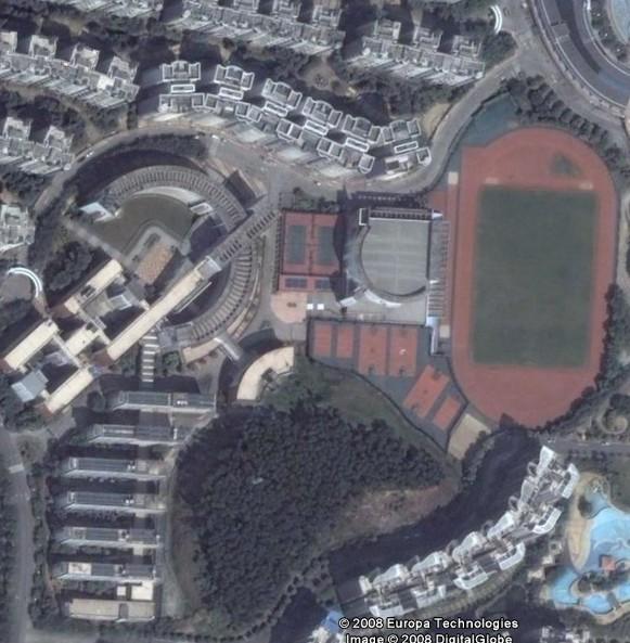 广州华师附中番禺学校卫星图