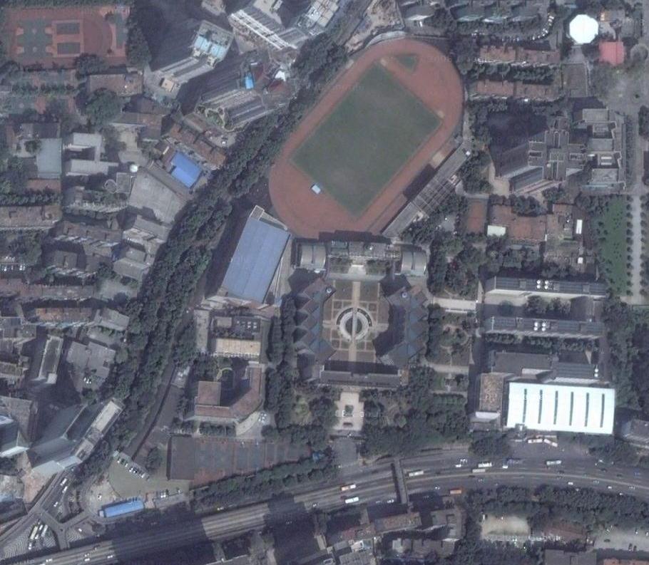 华南师大附中卫星图