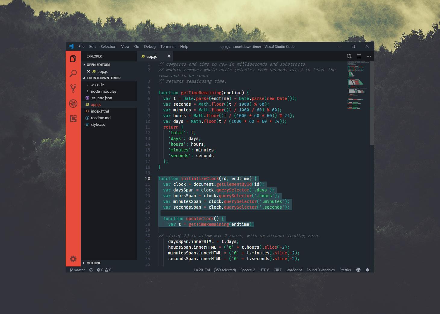 Fira Code Visual Studio Code