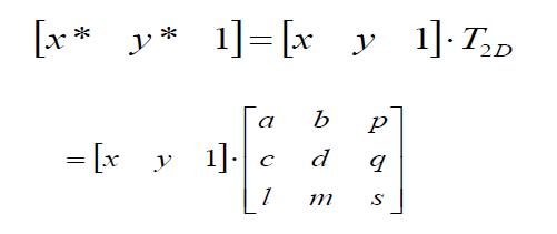 二维变换矩阵