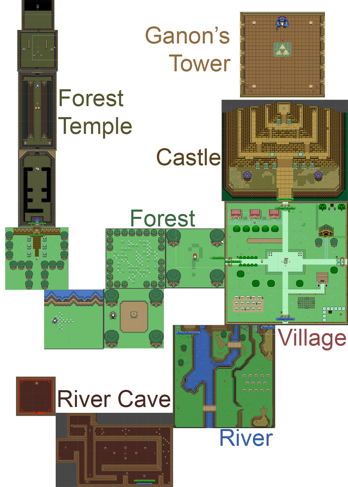 Z Game Map