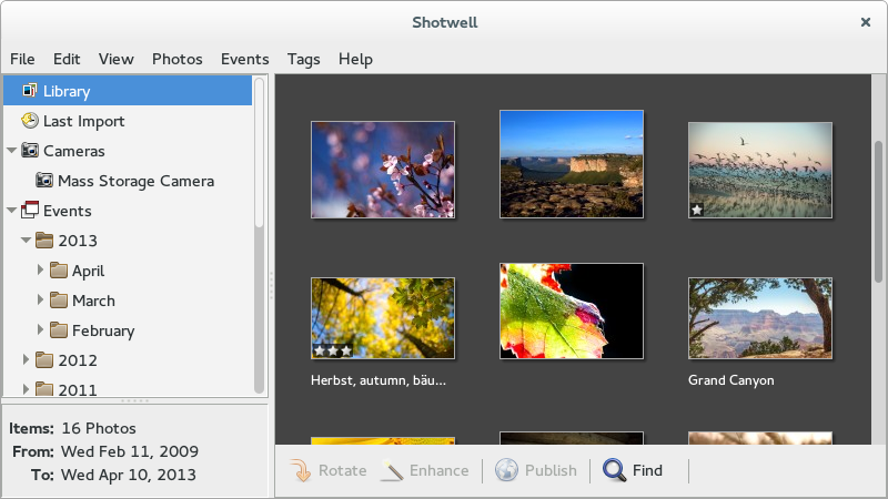 17 alternatives to your default image viewer on Fedora