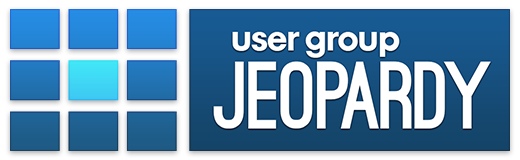 User Group Jeopardy