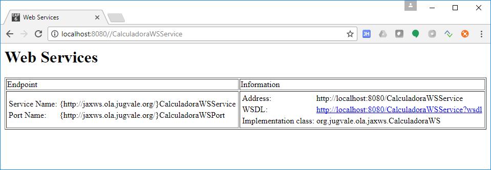 Java SOAP Demo Service