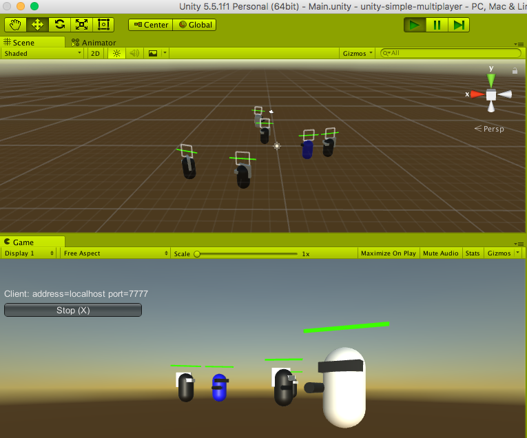 Unity Simple Multiplayer - UnityList