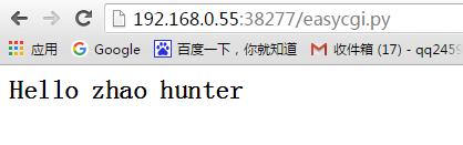 浏览器提交用户的输入,并返回执行结果