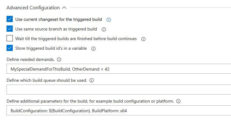 Trigger Build Task - Visual Studio Marketplace