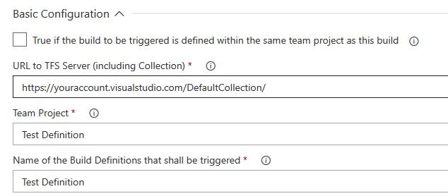 Custom Team Project Configuration