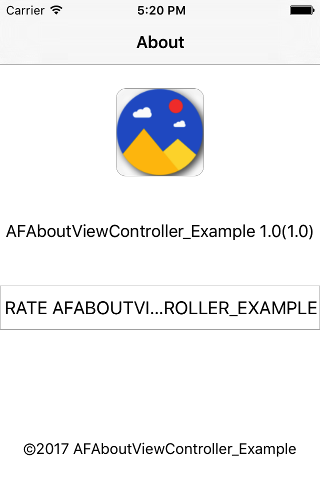 AFAboutViewController
