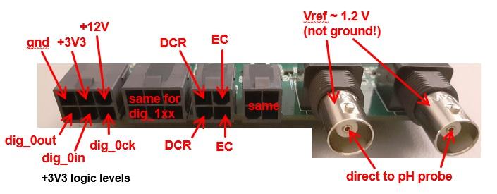 sensor side pinout