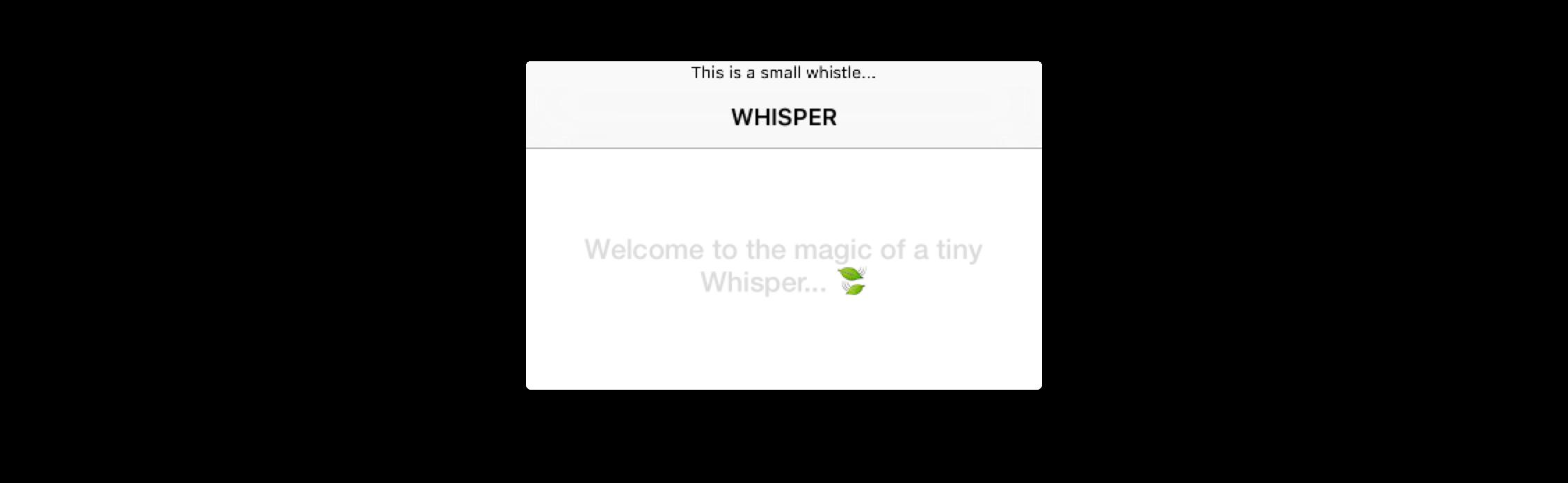 Định dạng kiểu Whistles