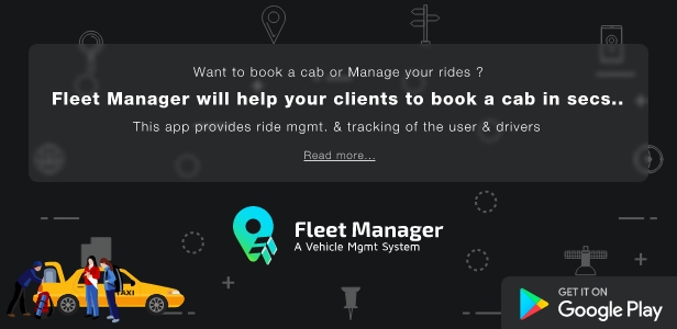Fleet Manager Android APP