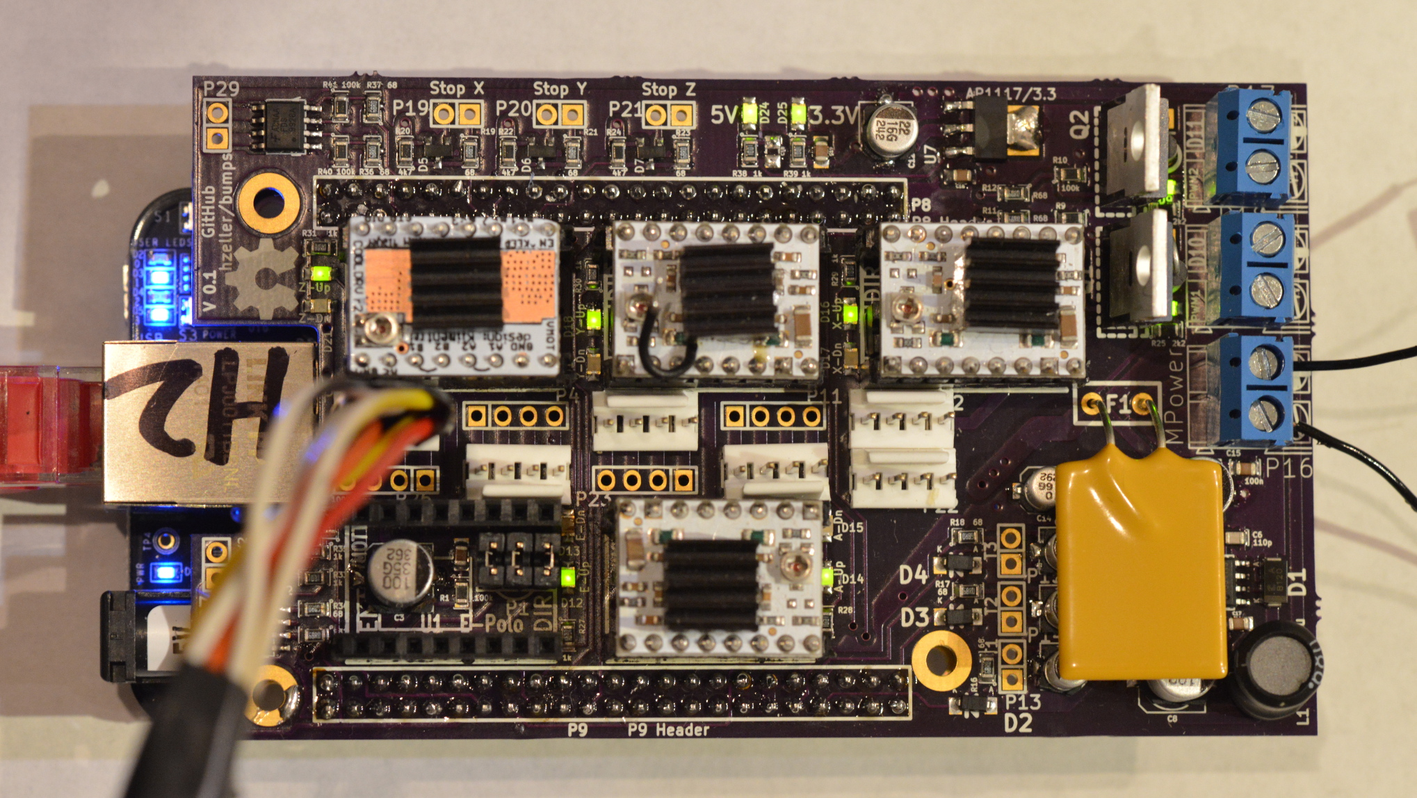 Machinekit Blog: BeagleBone Hardware Capes