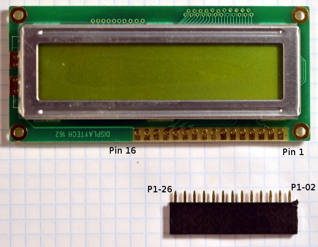 LCD Display and connector